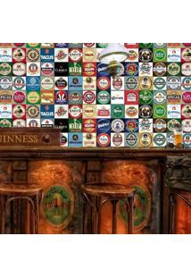 Adesivo Azulejos Rótulos De Cervejas 1,80X0,60
