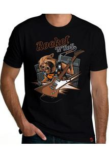 Camiseta Rocket And Roll