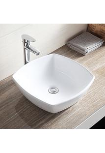 Cuba De Apoio Banheiro Lavabo Sobrepor De Porcelana Cerâmica Louça C265 - Premierdecor