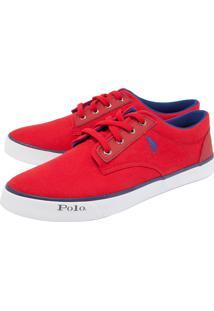 Tênis Polo Hpc Bordado Vermelho