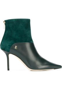 Jimmy Choo Ankle Boot Beyla 85 - Verde