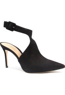 Sapato Schutz Salto Fino Fivela Preto