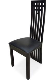 Cadeira Palito Madeira Maciça Design Exclusivo