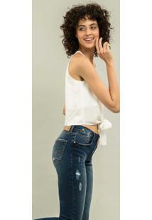Calça Cropped Bali Esthetic Jeans - Lez A Lez