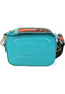 Bolsa Couro Jorge Bischoff Mini Bag New Pápicra Feminina - Feminino-Verde