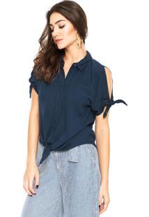 Camisa Lez A Lez Bali Azul