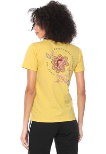 Camiseta Rusty Fiori Amarela