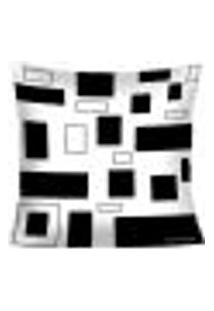 Capa Para Almofada Black And White - Baw1