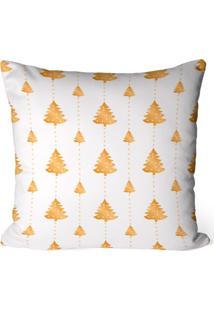 Capa De Almofada Love Decor Avulsa Decorativa Minimalista Pinheiros Gold - Kanui