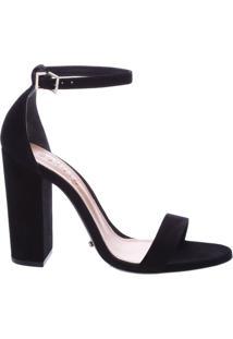 Sandália Gisele Stripe Black   Schutz