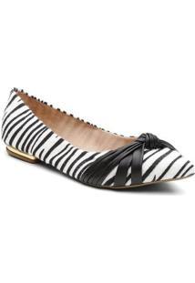 Sapatilha Violanta Bimbo Zebra Feminina - Feminino-Preto+Branco