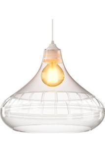 Luminária Pendente Spirit Combine 1420 Transparente