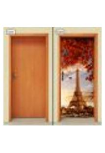 Adesivo Decorativo De Porta - Torre Eiffel - 1058Cnpt