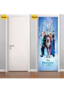 Adesivo De Porta Frozen (0,80M X 2,10M)