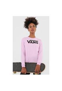 Camiseta Vans Flying Rosa