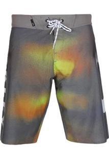 Bermuda Oakley Tormenta Masculina - Masculino-Cinza