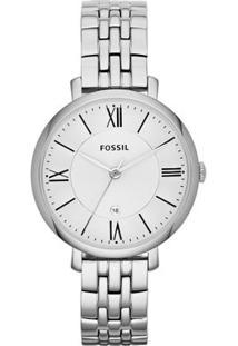 Relógio Fossil Feminino Jacqueline - Es3433/1Kn Es3433/1Kn - Feminino-Prata