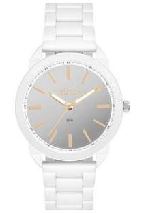 Relógio Feminino Euro Analógico Next Eu2035Ysg/4B - Feminino-Branco