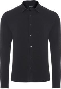 Camisa Masculina Light Wool - Preto