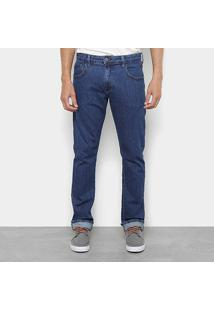 Calça Jeans Reta Triton John Regular Masculina - Masculino-Jeans