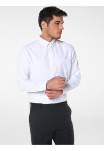 Camisa Regular Manga Longa Poá