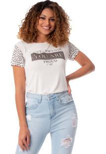 Blusa Feminina Mochine Off White - P