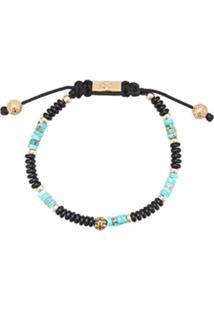 Nialaya Jewelry Pulseira 'Heishi' De Contas - Preto