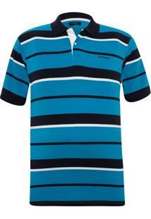 Camisa Pólo Manga Curta Pierre Cardin masculina  0987e448facd0