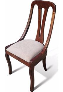 Cadeira Napoleão Madeira Maciça Design Exclusivo