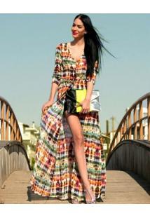 Vestido Cardigã Praiano