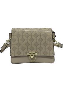 Bolsa Pequena Casual Importada Sys Fashion 8511 Bege