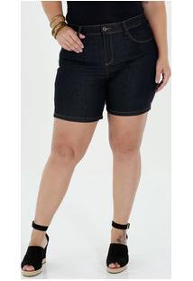 Bermuda Feminina Jeans Plus Size Marisa