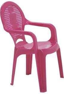 Cadeira Catty- Rosa- 55,5X35X36,5Cm- Tramontinatramontina