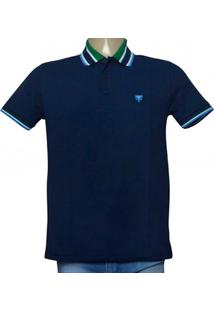 Camisa Masc Cavalera Clothing 03.01.3824 Azul/Verde