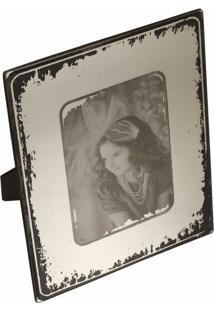 Porta-Retrato Decorativo Espelhado Campbel