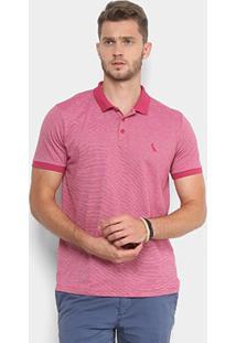 Camisa Polo Reserva Manga Curta Masculina - Masculino-Pink