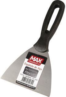 Espátula De Aço Temperado Com Cabo Plástico Max, 10 Cm - 7110