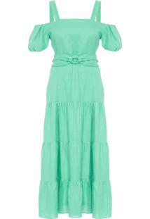 Vestido Ava - Verde