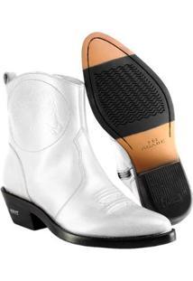 Bota Texana Hb Agabe Boots Masculina - Masculino-Branco
