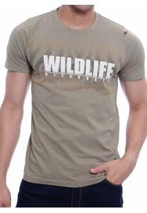 Camiseta Oitavo Ato Wildlife Island - Masculino