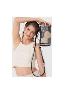 Bolsa Desigual Across Body Bag Nova P Preta