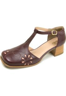 Sandalia Miuzzi Retro Ref: 3162 Chilli - Rose