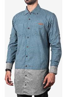 Camisa Longline Barra Mescla 200031