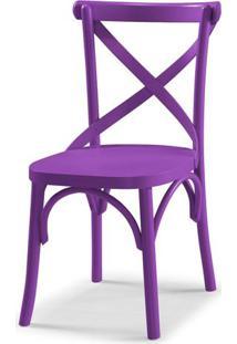 Cadeira X Cor Roxo - 31322 - Sun House