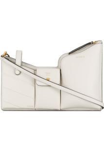 Fendi Bolsa Pockets Mini - Branco