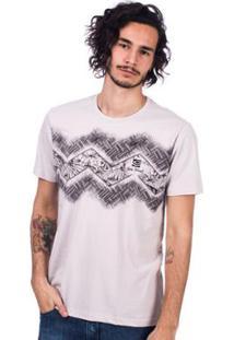 Camiseta Long Island Etnic Masculina - Masculino