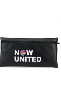 Kit 5 Unidades De Necessaire Now United La Faire Preto - Kanui