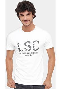 Camiseta Lacoste Lsc Masculina - Masculino