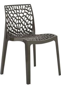 Cadeira De Jantar Gruvyer Dourado