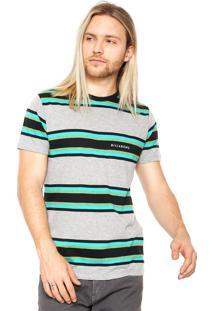 Camiseta Billabong Otis Ss Crew Cinza